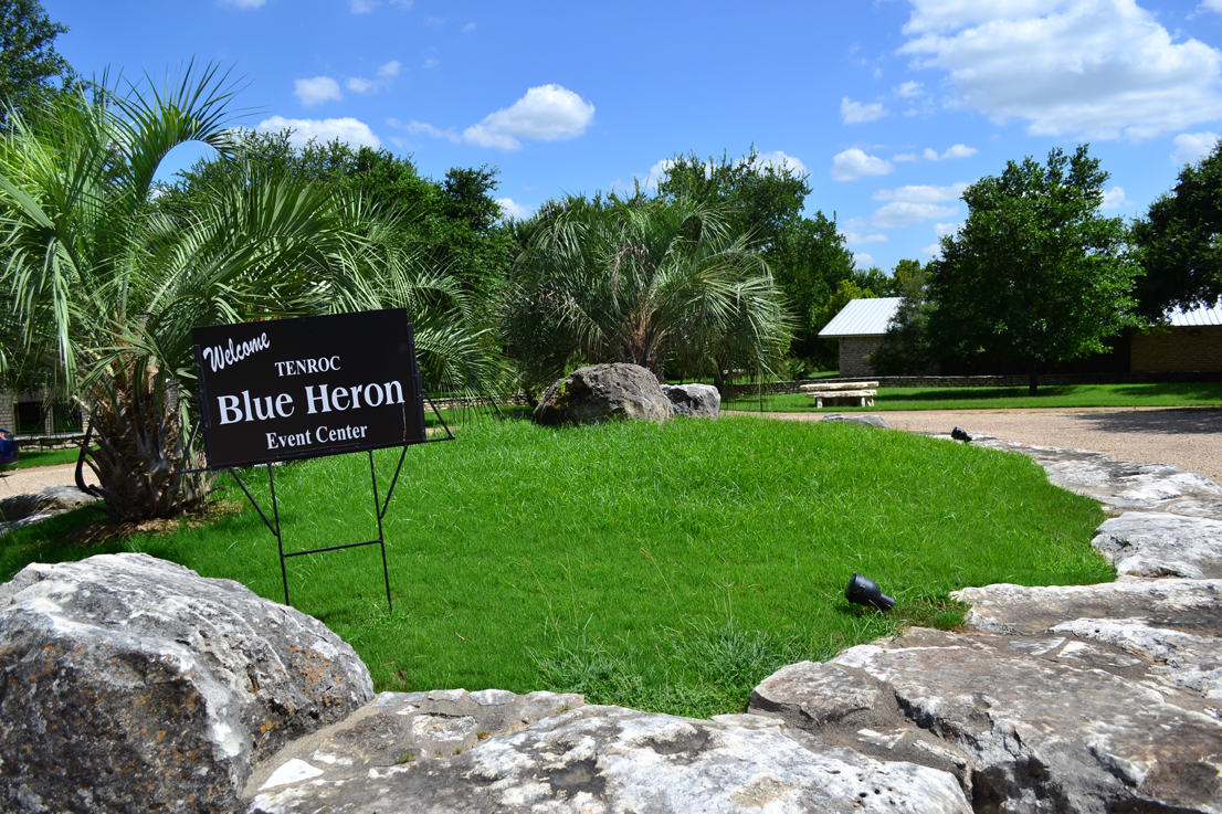 Blue Heron Entry Sign