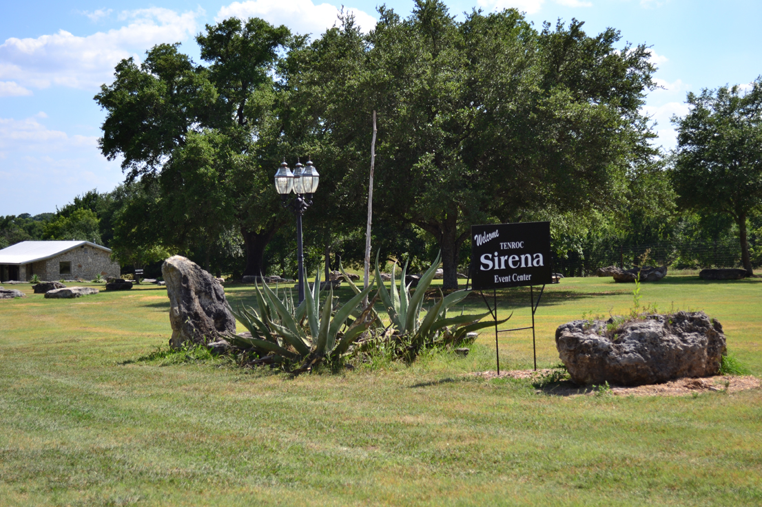 Sirena Entry Sign